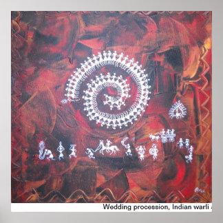 Bröllopprocession Poster