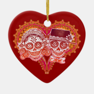 Bröllopprydnad för Los Novios Julgransprydnad Keramik