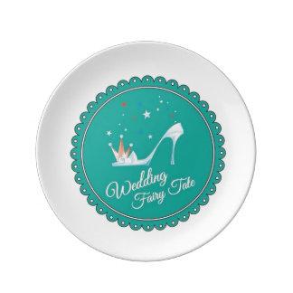 Bröllopsaga Porslinstallrik