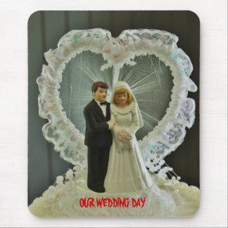 Bröllopsdag Mousepad Musmatta