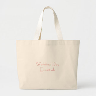 BröllopsdagEssentials hänger lös Jumbo Tygkasse