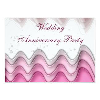 Bröllopsdagpartyinbjudan 12,7 X 17,8 Cm Inbjudningskort