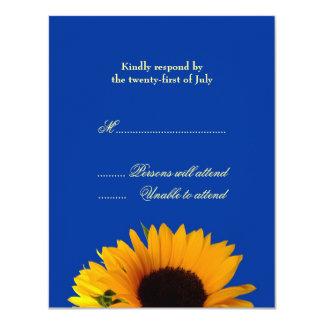 Bröllopsvarskort 10,8 X 14 Cm Inbjudningskort
