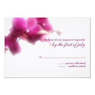 Bröllopsvarskort 8,9 X 12,7 Cm Inbjudningskort