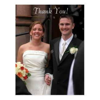 Brölloptack Vykort