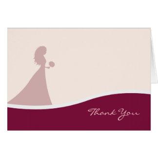 Brölloptackkort Kort