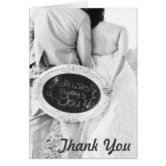 Brölloptackkort Hälsningskort