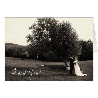 Brölloptackkort OBS Kort