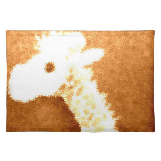 Brons giraffet bordstablett