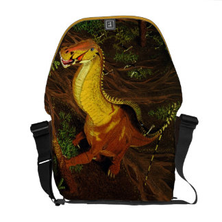 BrontosaurusDinosaurmessenger bag Gregory Paul Kurir Väska