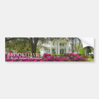 Brookhaven ms hem- sökare paradis bildekal