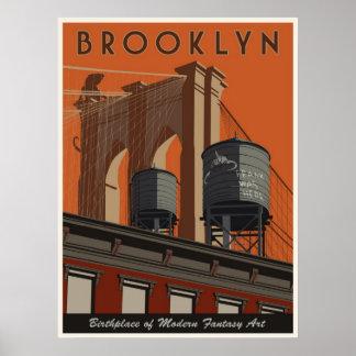 Brooklyn en tribute poster