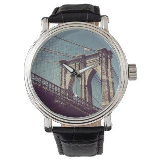 Brooklyn överbryggar klockan armbandsur