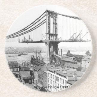 Brooklyn överbryggar kustfartyget underlägg sandsten