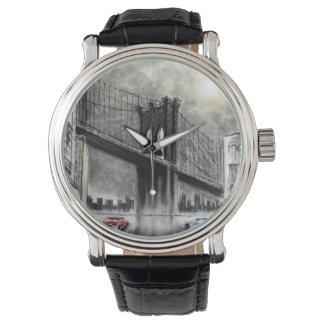 Brooklyn överbryggar, USA klockan Armbandsur
