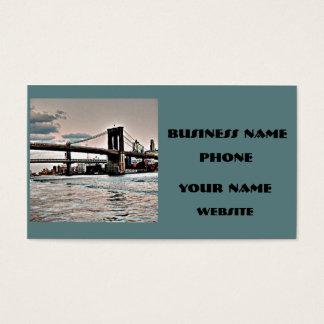 Brooklyn överbryggar visitkort