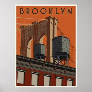 Brooklyn reser affischen affischer