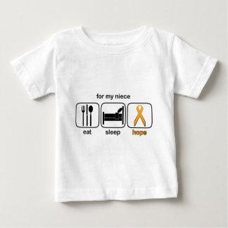 Brorsdottern äter sömnhopp - Leukemia Tee Shirt