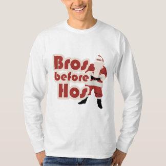 Bros för Hos Santa T-shirts