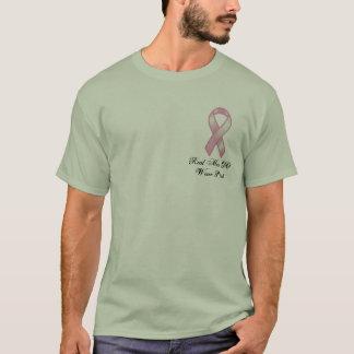 bröst-cancer-medvetenhet t-shirts
