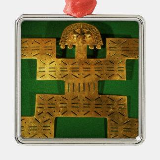 Bröst- prydnad av den Tolima regionen Julgransprydnad Metall
