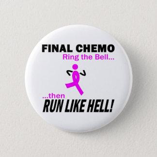 Bröstcancer för finalChemo springa mycket - Standard Knapp Rund 5.7 Cm