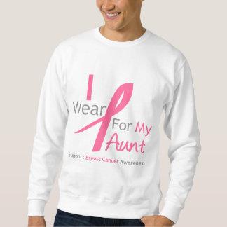 Bröstcancer ha på sig jag rosor för min moster sweatshirt