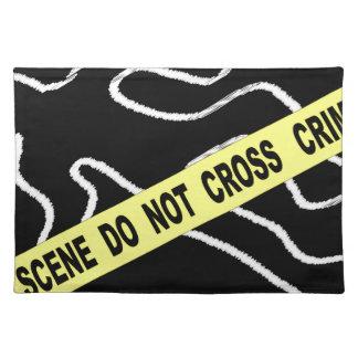 Brotts- platskrita markerar bordstablett