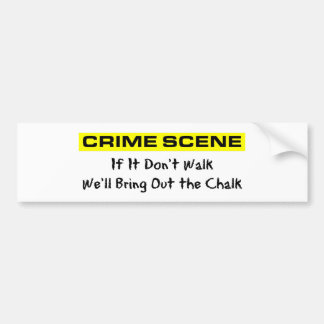 Brotts- platsutredare bildekal