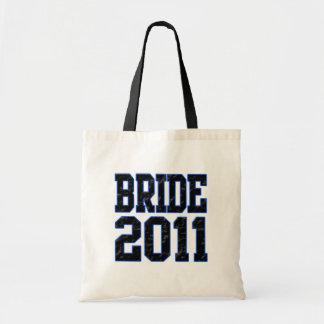Brud 2011 tote bags