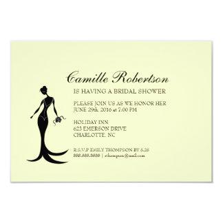 Brud- bukett |iv för möhippainbjudan | 8,9 x 12,7 cm inbjudningskort