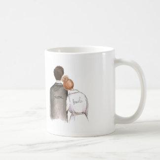 Brud för bulle för framtida man för herrskapDk-Br Kaffemugg