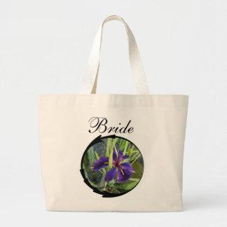 Brud för lilavattenIris Tote Bags