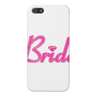Brud med Bling - rosa iPhone 5 Cases