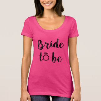 Brud som är kvinna skjorta tee shirts