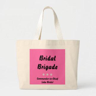 Bruden hänger lös -- Brud- brigad Jumbo Tygkasse