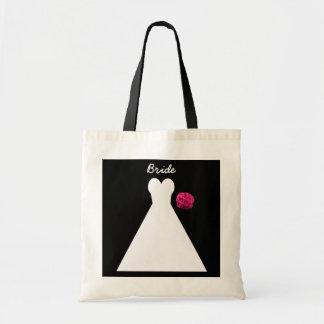 Bruden hänger lös -- Brud- kappa Tote Bag
