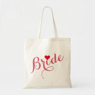 Bruden som gifta sig slank toto för budget tygkasse