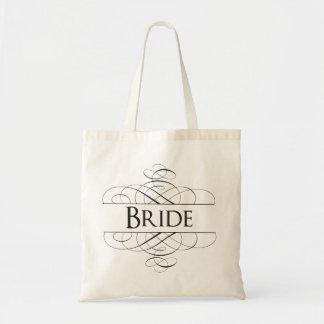 Bruden virvlar runt tote bags
