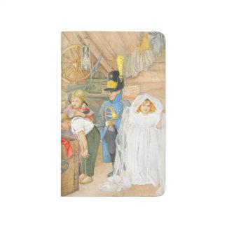 Brudens sida Brudföljet Anteckningsbok
