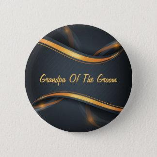 Brudgum anpassade för morfar (b/g) standard knapp rund 5.7 cm