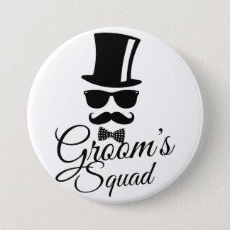 Brudgum squad mellanstor knapp rund 7.6 cm