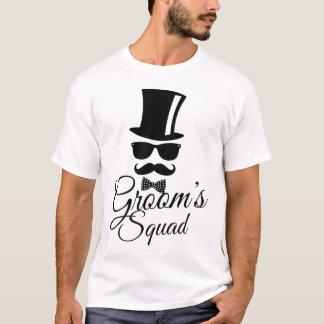 Brudgum squad t shirt
