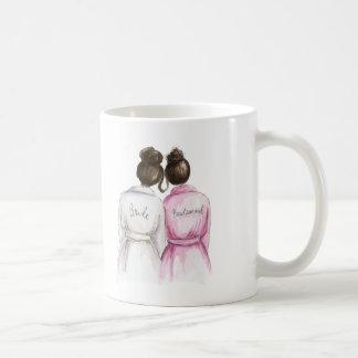 Brudtärna? Maid för brunett för Dk för brud för Kaffemugg