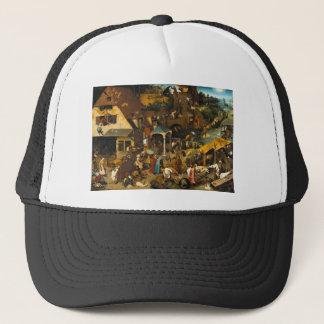 Bruegel Netherlandish Proverbs Truckerkeps