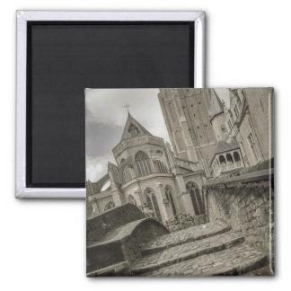 Brugge kyrka av vår dammagnet