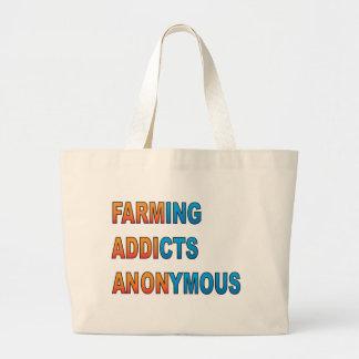 Bruka anonyma knarkare tote bags