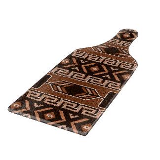 Brun Aztec stam- mönsterSouthwestdesign