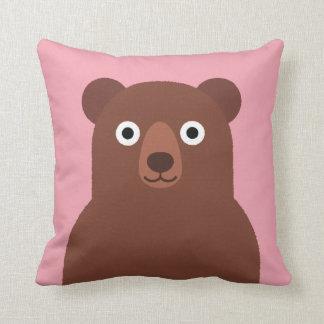 Brun björn kudde
