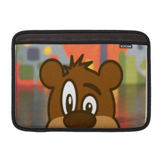 Brun björn MacBook sleeve